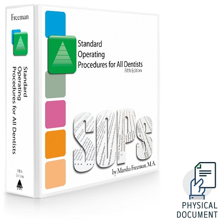 Standard Operating Procedures for all Dentists, 5th Edition: Printed